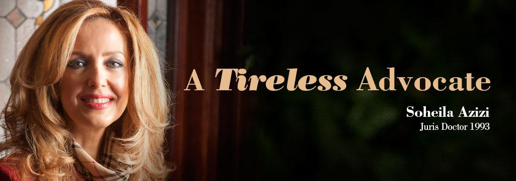 A Timeless Advocate - Soheila Azizi