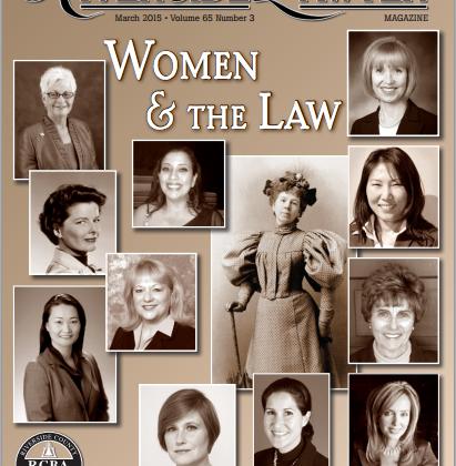 Riverside Lawyer Magazine | Women in the Law