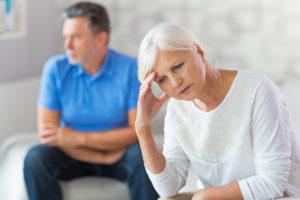Mature Couple In Quarrel