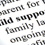filing child support