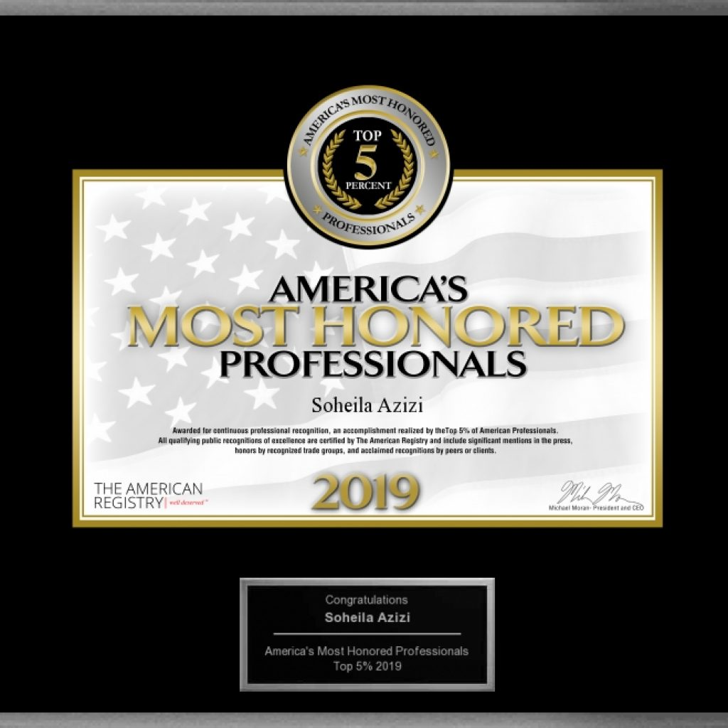 America's Most Honored Professionals Top 5%