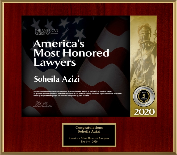 AAmerica's Most Honored Lawyers 2020 - Top 5%