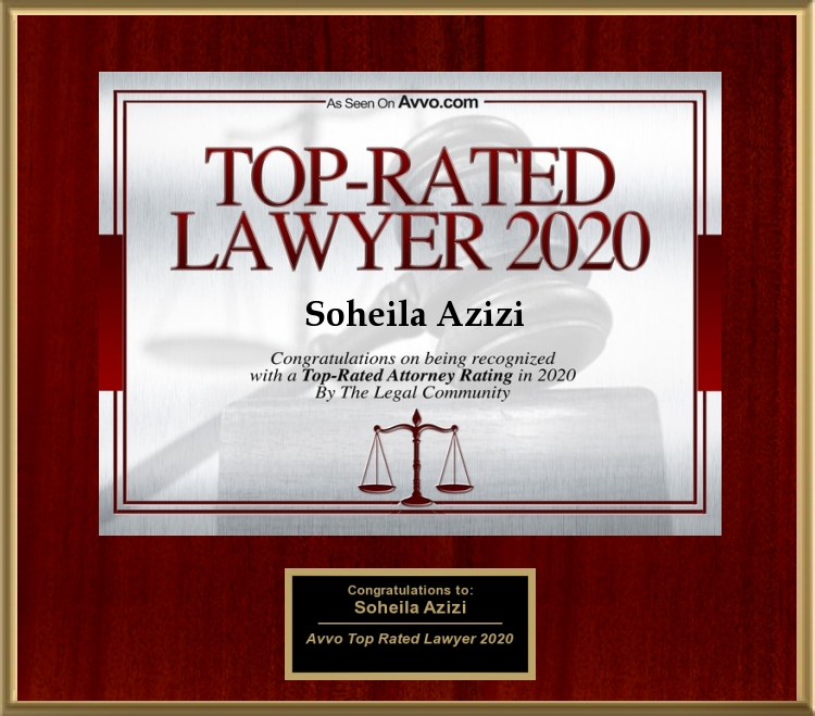 Avvo Rated Top Lawyer 2020