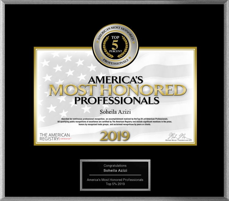 America's Most Honored Professionals 2019 - Top 5%