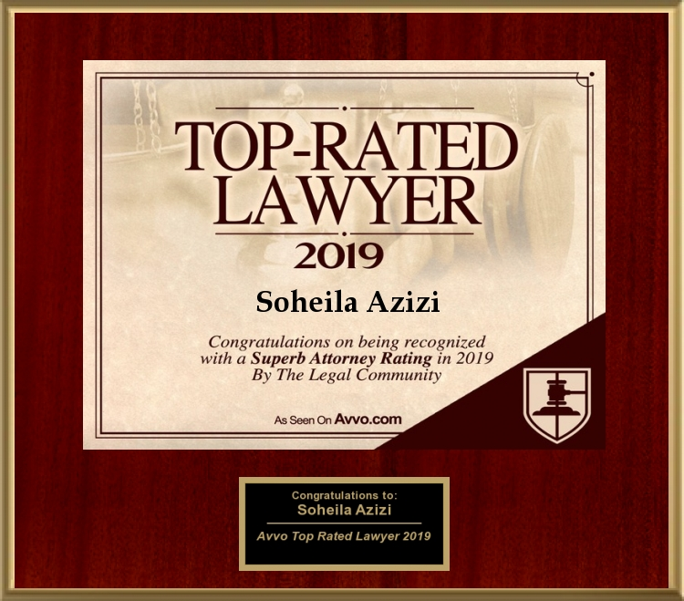 Avvo Rated Top Lawyer 2019