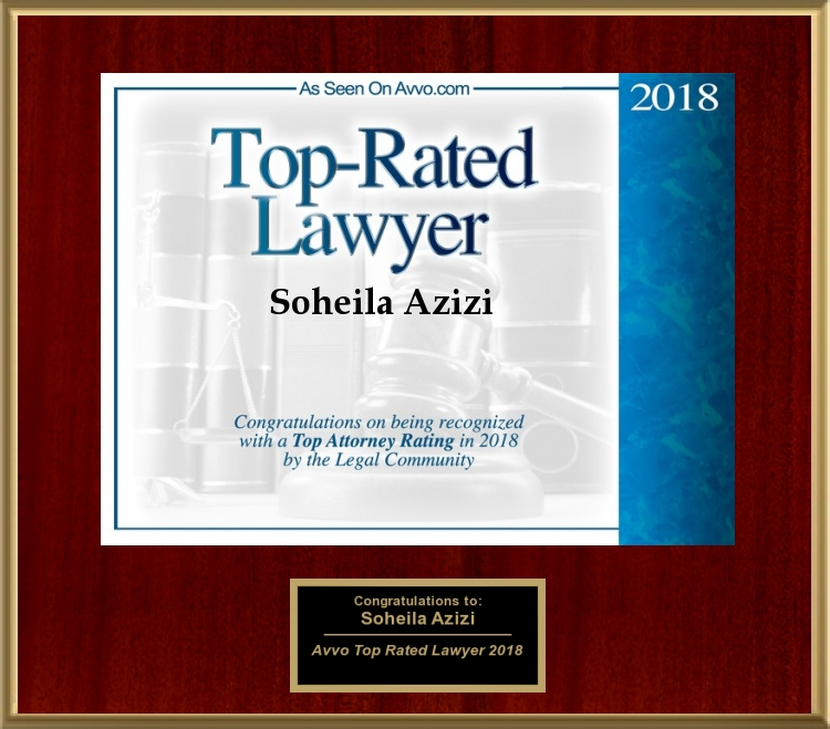 Avvo Rated Top Lawyer 2018