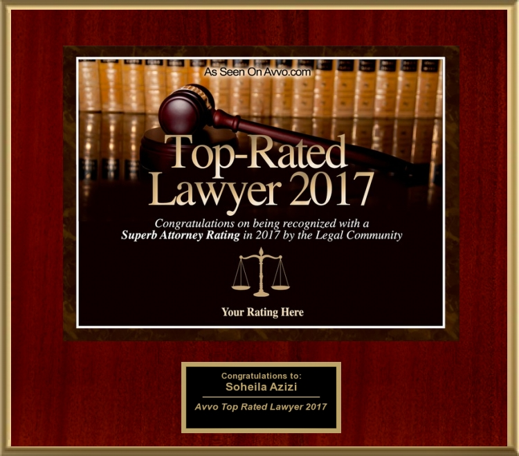 Avvo Rated Top Lawyer 2017