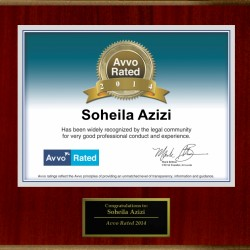 Avvo Rated Attorney 2014