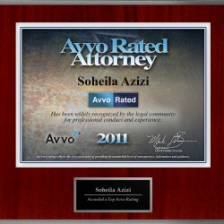 Avvo Rated Attorney 2011